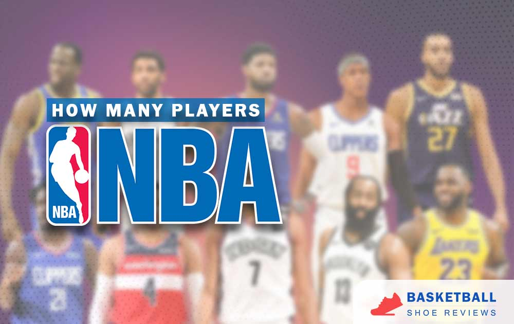 How many players in the NBA games